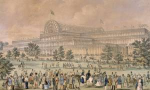 Crystal Palace, Hyde Park, !851.