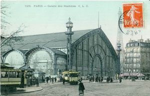 Galerie des Machines, Exposition Universelle 1889, Paris.